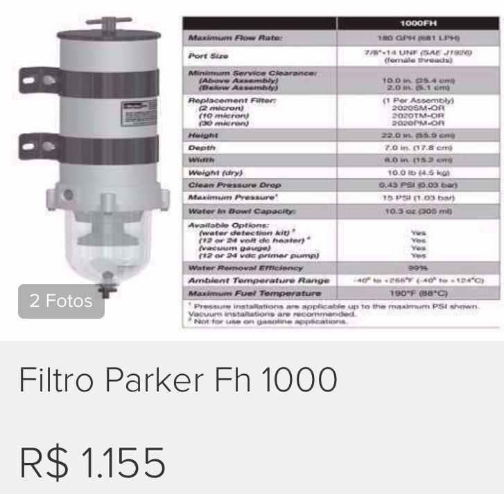 filtro-parker-fh-1000